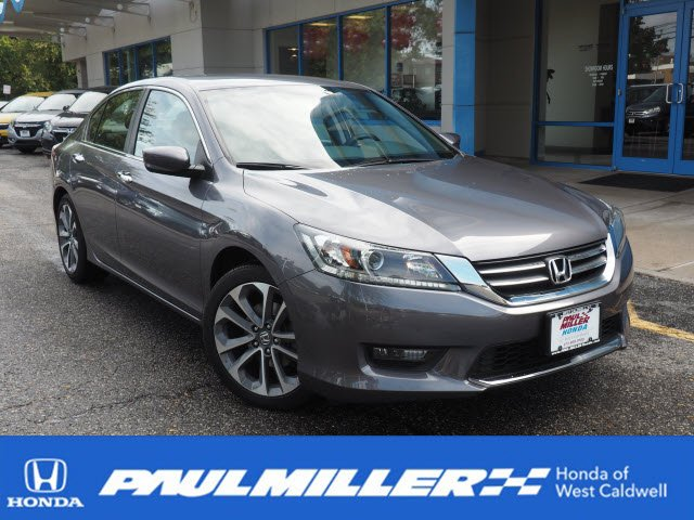 Certified Pre Owned 2015 Honda Accord Sedan Sport