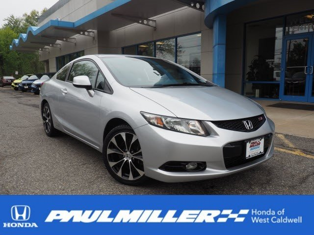 Certified Pre-Owned 2013 Honda Civic Cpe Si