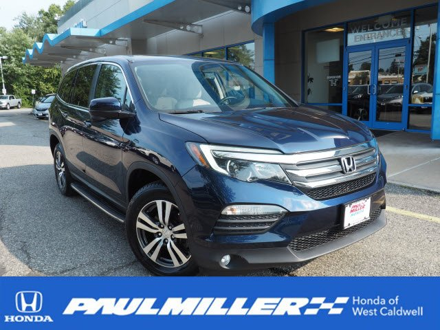 Certified Pre Owned 2016 Honda Pilot Ex L Sport Utility In West