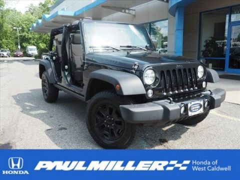 Certified Pre-Owned 2016 Jeep Wrangler Unlimited Willys Wheeler