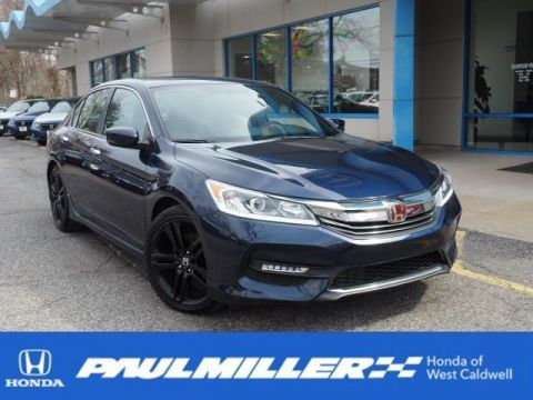 Certified Pre-Owned 2017 Honda Accord Sedan Sport
