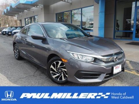 Certified Pre-Owned 2016 Honda Civic Coupe LX-P
